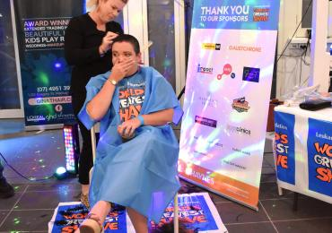 Haynes Group raises over $10,000 shaving in support of blood cancer