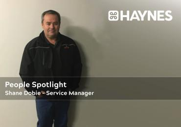 People Spotlight - Shane Dobie, Service Manager Haynes Group Mechanical